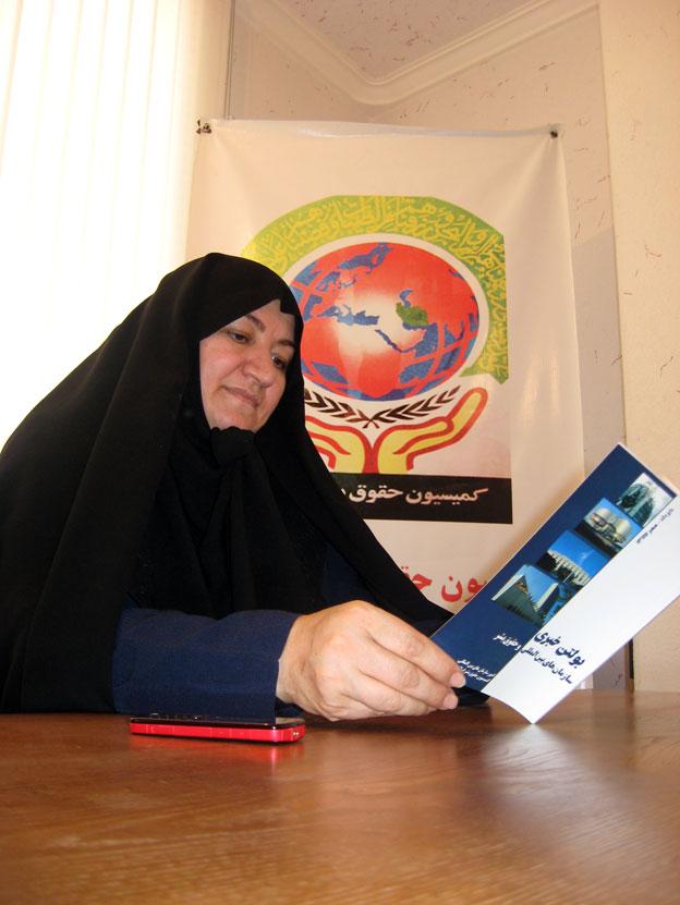 بازدید خانم مهري سويزي  مشاور وزیر و مدير کل امور بانوان وزارت آموزش و پرورش از دفتر منطقه 7